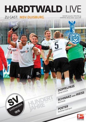 Hardtwald Live, Heft 17, Saison 2015/16