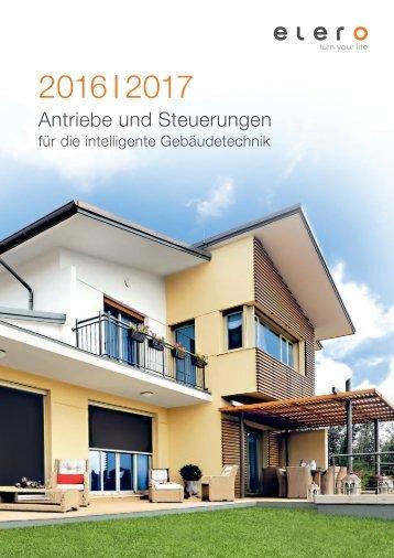 elero - Antriebe und Steuerungen für die intelligente Gebäudetechnik