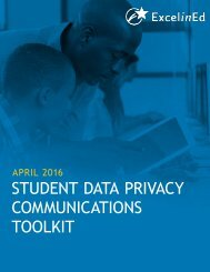 STUDENT DATA PRIVACY COMMUNICATIONS TOOLKIT