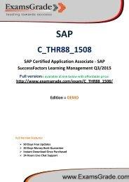 ExamsGrade C_THR88_1508 Latest Exam Q&A