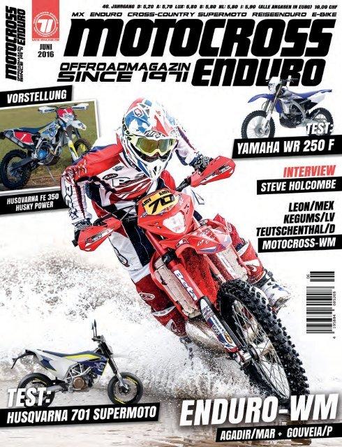 Scott 350 Pro Race MX Enduro Motorrad Bike Helm weiß//schwarz//rot 2016