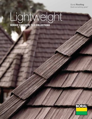 Lightweight roof tiles ppazfo