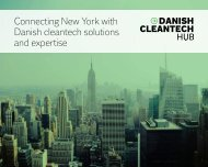 Connecting New York with Danish cleantech solutions and expertise
