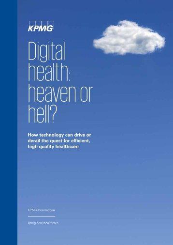 Digital health heaven or hell?