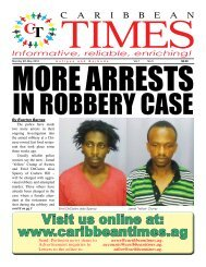Caribbean Times 5th Issue - Monday 9th May 2016