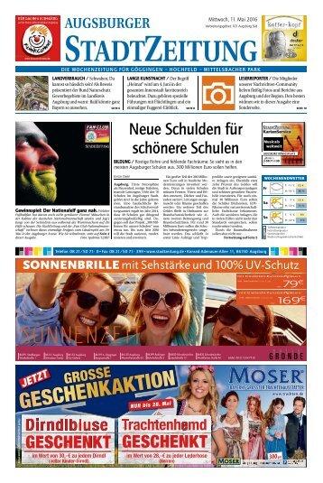 101 Augsburg - Süd 11.05.2016