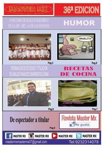 MASTER MX 36ª EDICION