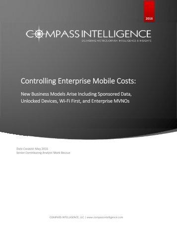 Controlling Enterprise Mobile Costs