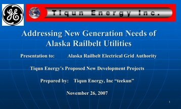 "Repowering of Knik Arm Power Plant [""KAPP""] - Sakata Engineering ..."