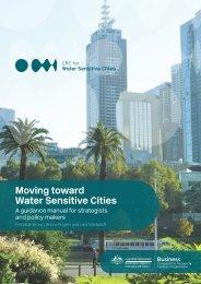 Moving toward Water Sensitive Cities