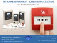 Fire Alarm Installer Bournemouth - Dorset Electrical Solutions Ltd