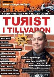 Turist i tillvaron fanzine 1