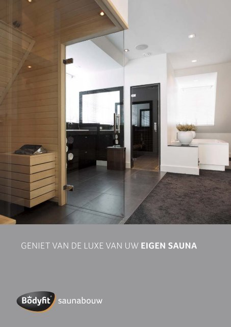 Bodyfit sauna's by InterDoccia