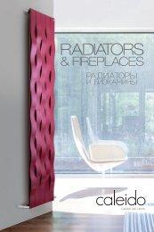 Caleido Design Radiators & Fireplaces collection by InterDoccia