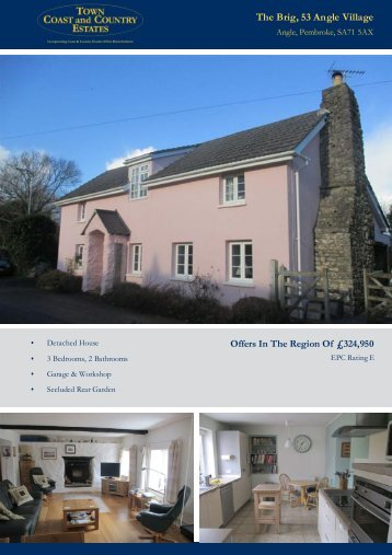 The Brig 53 Angle Village Offers In The Region Of £324,950