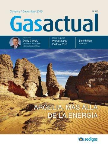 ARGELIA MÁS ALLÁ DE LA ENERGÍA