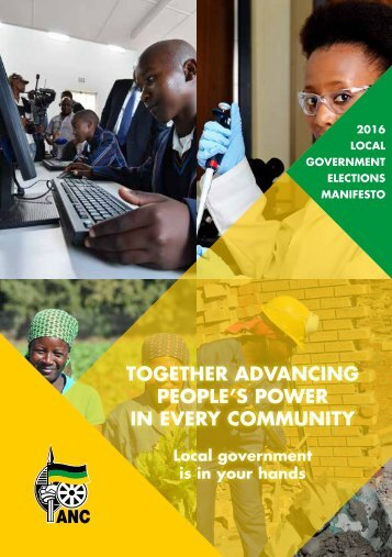 TOGETHER ADVANCING PEOPLE'S POWER IN EVERY COMMUNITY