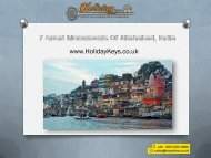 7 Great Monuments Of Allahabad, India - HolidayKeys.co.uk