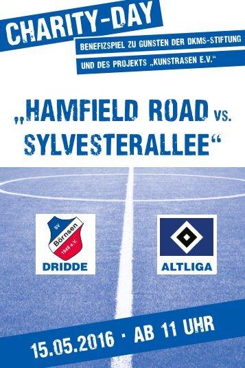 Onlinebroschütre zum Benefizspiel SVB Dridde vs. HSV Altliga