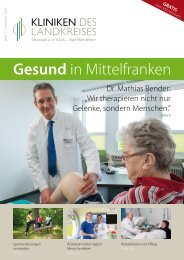 Patientenzeitschrift 1   Sommer 2016
