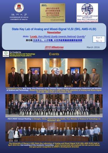 AMSV Newsletter 2015