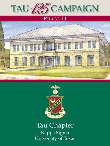 PhASe II - Kappa Sigma Tau UT