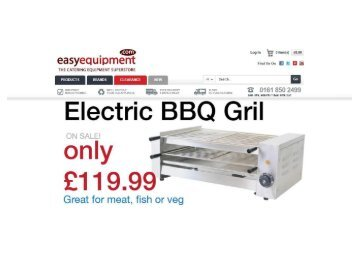 We sell catering equipment in the UK