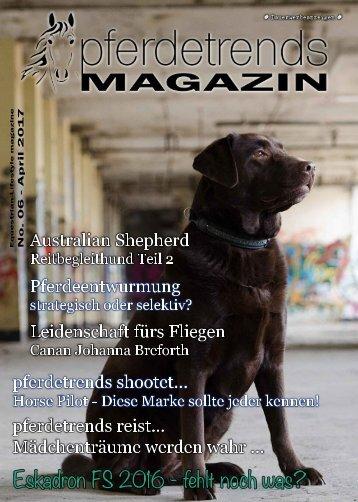 pferdetrendsMagazin No. 06 - März - April 2017