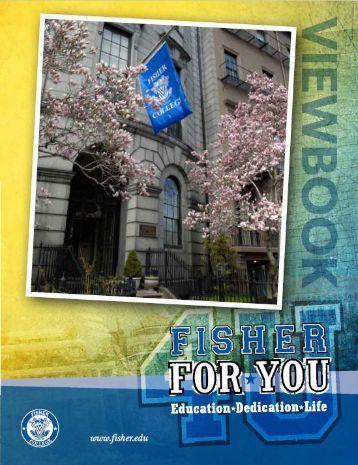 Fisher College Viewbook 2015-2016