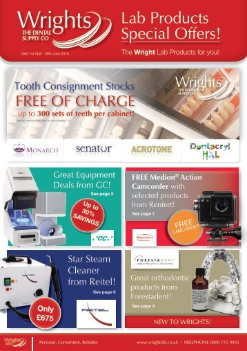 Lab Products Special Offers!