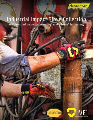 Industrial Impact Glove Collection