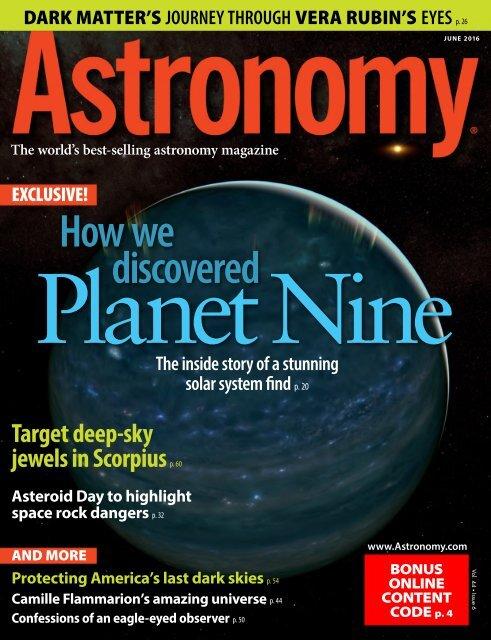 Astronomy - June 2016