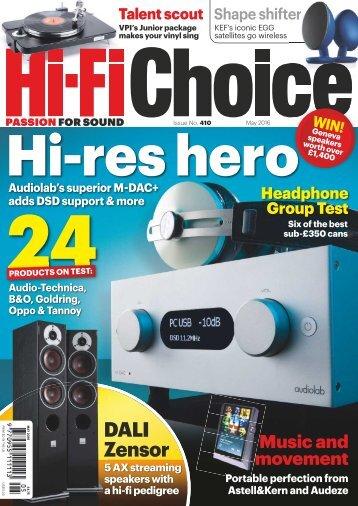 Hi-Fi Choice - May