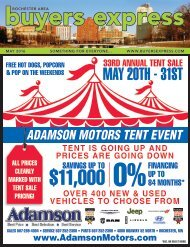Buyers Express - Rochester Edition - May 2016