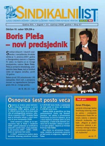 Boris Pleša – novi predsjednik - SDLSN