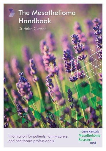 The Mesothelioma Handbook