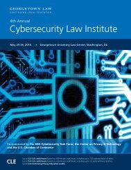 Cybersecurity Law Institute