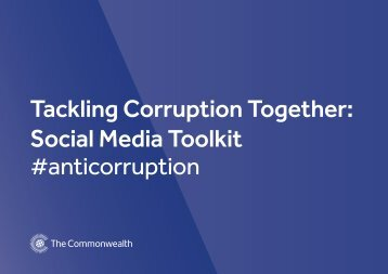 Tackling Corruption in the Commonwealth