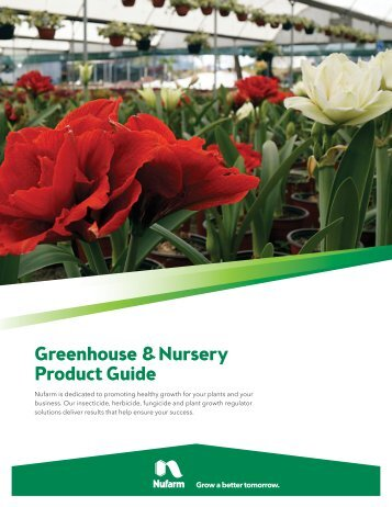 Greenhouse & Nursery Product Guide