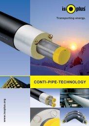 CONTI-PIPE-TECHNOLOGY - isoplus Fernwärmetechnik