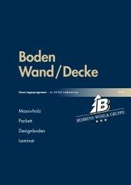 Boden Wand Decke 2016