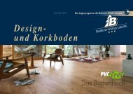 Design und Korkboden