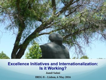 Excellence Initiatives and Internationalization Is it Working?