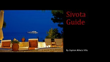 Captain Mike's Villa Guide