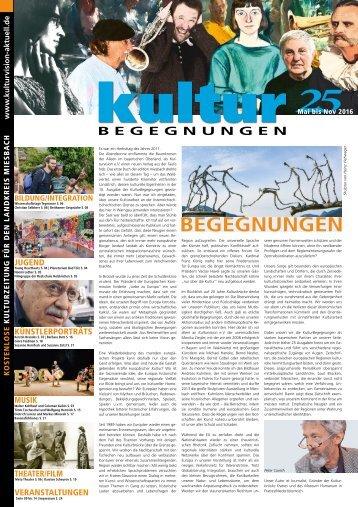 KulturBegegnungen Nr. 25