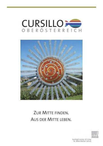 Cursillo Oberösterreich - Angebote 2016/17
