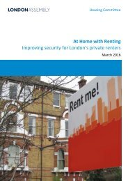 At Home with Renting Improving security for London's private renters