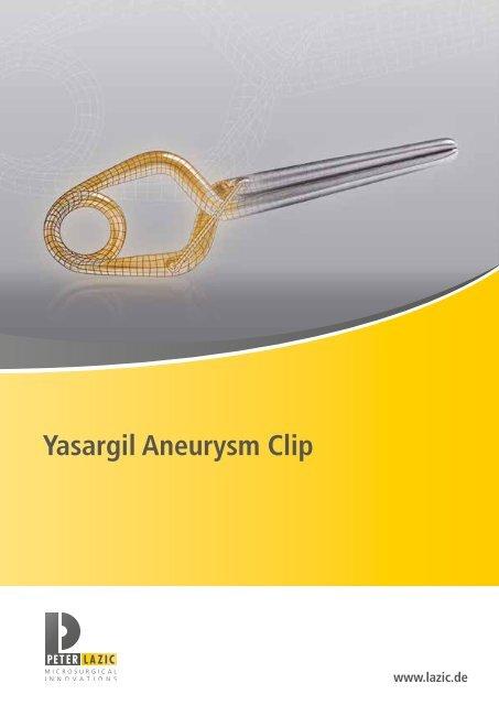 Yasargil Aneurysmen-Clip