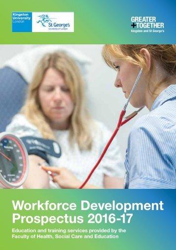 Workforce Development Prospectus 2016 -17