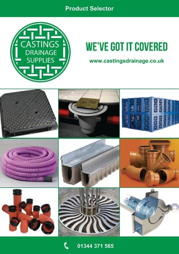 Castings Grainage Supplies - Product Selector